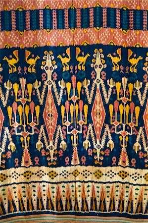 southeast asian - Traditional Woven Ikat Cloth, Sumba, Indonesia Stock Photo - Rights-Managed, Code: 700-03665843