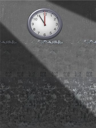 Clock on Wall Stock Photo - Rights-Managed, Code: 700-03660003