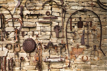 Old Farm Tools, Piedmont, Italy Stock Photo - Rights-Managed, Code: 700-03660108