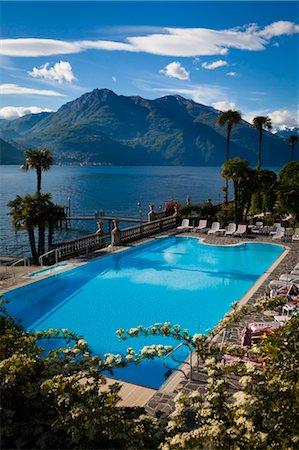 Grand Hotel Villa Serbelloni, Bellagio, Lake Como, Province of Como, Lombardy, Italy Stock Photo - Rights-Managed, Code: 700-03660183
