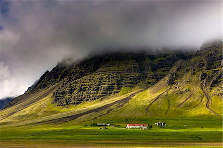Farm in South Iceland Stock Photo - Rights-Managed, Code: 700-03660261
