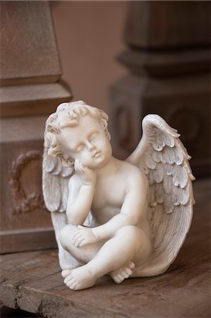 decorative - Angel Figurine Stock Photo - Rights-Managed, Code: 700-03685767