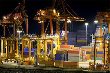 Crane, Vancouver, British Columbia, Canada Stock Photo - Rights-Managed, Code: 700-03681996