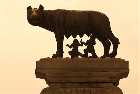 Romulus and Remus Statue at Capitoline Museum, Rome, Lazio, Italy Stock Photo - Rights-Managed, Code: 700-03696772