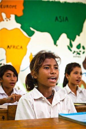 Girls in Classroom, Larawatu School, Sumba, Indonesia Stock Photo - Rights-Managed, Code: 700-03696917