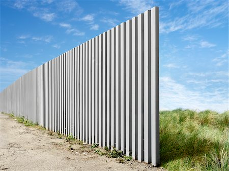 Large Fence Stock Photo - Rights-Managed, Code: 700-03698122