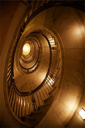 Staircase in U.S. Supreme Court Building, Washington, D.C., USA Stock Photo - Rights-Managed, Code: 700-03698325