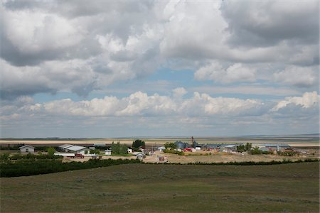 Mayfield Hutterite Colony near Etzikom, Southern Alberta, Canada Stock Photo - Rights-Managed, Code: 700-03698463