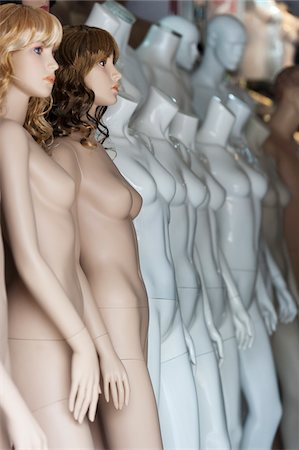 Mannequins in Store, Muxiyuan Textile Market, Fengtai District, Beijing, China Stock Photo - Rights-Managed, Code: 700-03720117