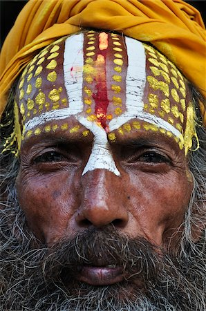 Sadhu, Durbar Square, Bhaktapur, Bagmati Zone, Madhyamanchal, Nepal Stock Photo - Rights-Managed, Code: 700-03737563