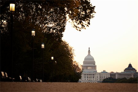 The Capitol Building, Washington, D.C., USA. Stock Photo - Rights-Managed, Code: 700-03737589