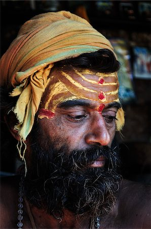 Sadhu, Pashupatinath Temple, Kathmandu, Bagmati, Madhyamanchal, Nepal Stock Photo - Rights-Managed, Code: 700-03737827