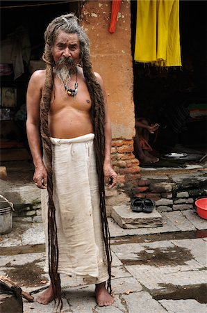 Sadhu, Pashupatinath Temple, Kathmandu, Bagmati, Madhyamanchal, Nepal Stock Photo - Rights-Managed, Code: 700-03737823