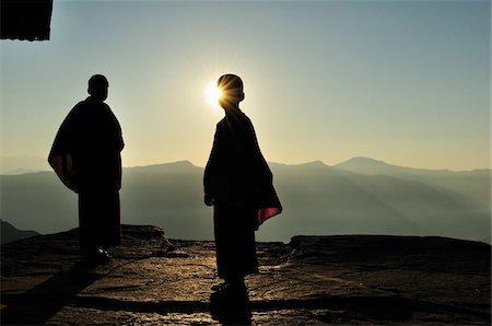 Young Buddhist Monks, Sanga Choeling Monastery, Pelling, West Sikkim, Sikkim, India Stock Photo - Rights-Managed, Code: 700-03737849