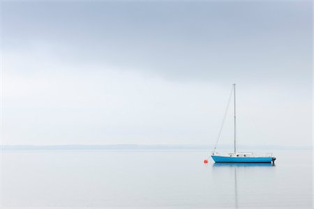 Sailboat on Lake Chiemsee, Bavaria, Germany Stock Photo - Rights-Managed, Code: 700-03738993