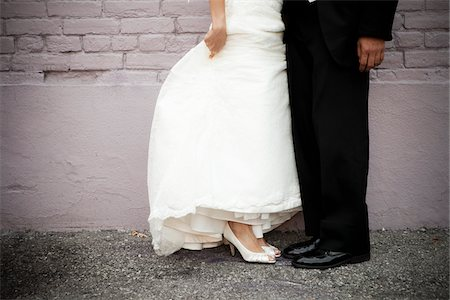 Bride and Groom's Feet Stock Photo - Rights-Managed, Code: 700-03739051