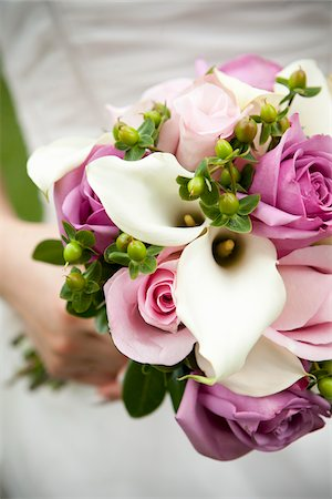 Close-Up of Bride's Bouquet Stock Photo - Rights-Managed, Code: 700-03739052
