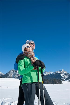 Couple Outdoors in Winter Stock Photo - Rights-Managed, Code: 700-03739218