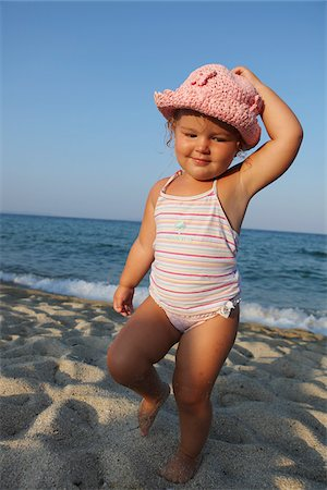Toddler at Beach Stock Photo - Rights-Managed, Code: 700-03739286