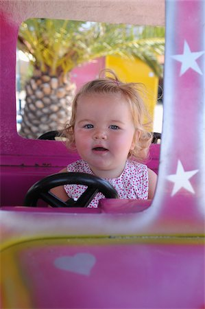 Little Girl at Amusement Park Stock Photo - Rights-Managed, Code: 700-03739338