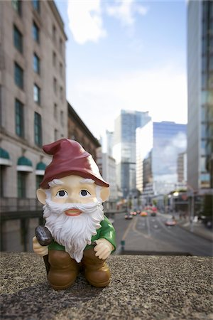 dwarf - Gnome in City Stock Photo - Rights-Managed, Code: 700-03739478