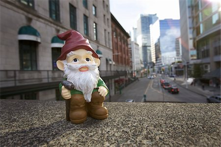 dwarf - Gnome in City Stock Photo - Rights-Managed, Code: 700-03739479