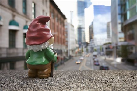 dwarf - Gnome in City Stock Photo - Rights-Managed, Code: 700-03739480