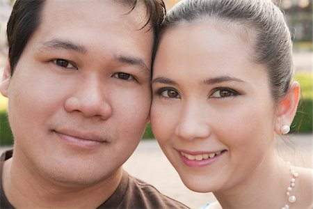 Portrait of Couple Stock Photo - Rights-Managed, Code: 700-03762399
