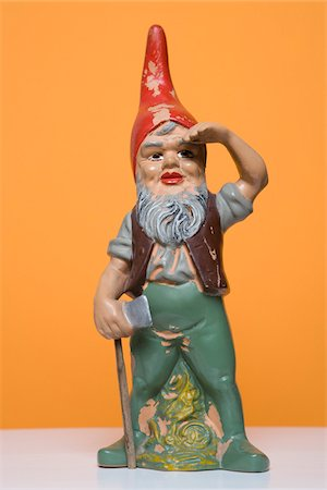 dwarf - Still Life of Garden Gnome Stock Photo - Rights-Managed, Code: 700-03762524