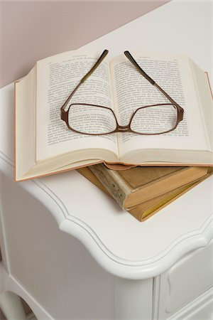 story - Still Life of Books and Reading Glasses Stock Photo - Rights-Managed, Code: 700-03762522