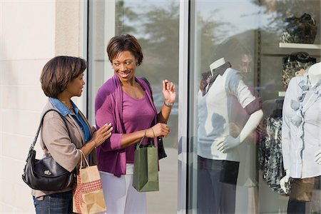 Two Women Shopping Stock Photo - Rights-Managed, Code: 700-03762655