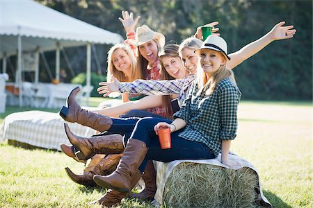 Group of Teenage Girls Being Silly Stock Photo - Rights-Managed, Code: 700-03762681