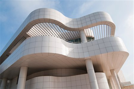 Museum at Getty Center, Los Angeles California, USA Stock Photo - Rights-Managed, Code: 700-03777191