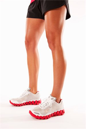 Legs of Athletic Woman Stock Photo - Rights-Managed, Code: 700-03777927