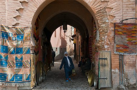 Gate to the Souk, Marrakech, Morocco Stock Photo - Rights-Managed, Code: 700-03778127