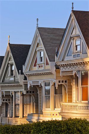 Close-UP of Row Houses, San Francisco, California, USA Stock Photo - Rights-Managed, Code: 700-03778206