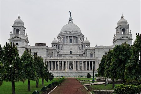Victoria Memorial Hall, Kolkata, West Bengal, India Stock Photo - Rights-Managed, Code: 700-03778227