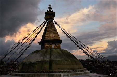Boudhanath, Kathmandu, Nepal Stock Photo - Rights-Managed, Code: 700-03778221