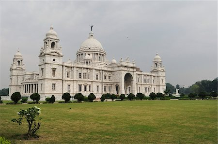 Victoria Memorial Hall, Kolkata, West Bengal, India Stock Photo - Rights-Managed, Code: 700-03778230