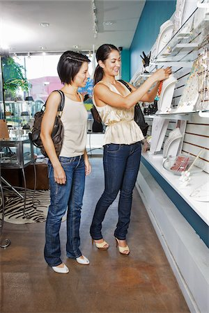 peter griffith - Women Shopping in Boutique Stock Photo - Rights-Managed, Code: 700-03778572