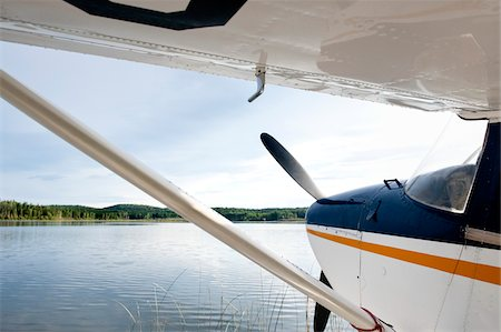Seaplane on Otter Lake, Saskatchewan, Canada Stock Photo - Rights-Managed, Code: 700-03778611