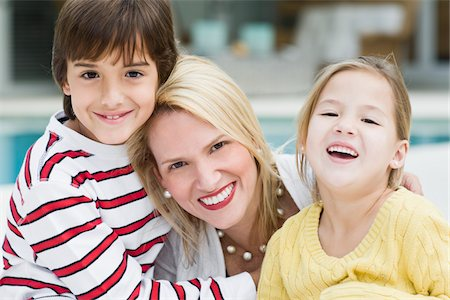 Mother with Son and Daughter Stock Photo - Rights-Managed, Code: 700-03778642