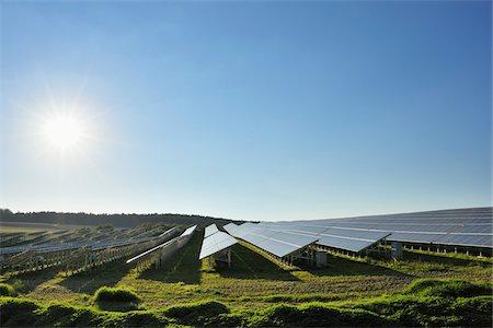 solar power - Solar Panels, Bavaria, Germany Stock Photo - Rights-Managed, Code: 700-03787378