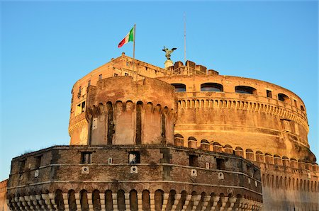 Castel Sant'Angelo, Rome, Italy Stock Photo - Rights-Managed, Code: 700-03799583
