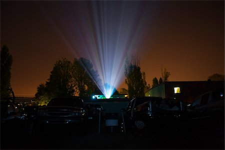 Drive-in Movie Theater, Newberg, Oregon, USA Stock Photo - Rights-Managed, Code: 700-03805276