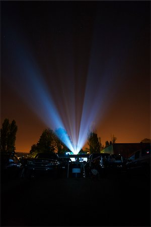 Drive-in Movie Theater, Newberg, Oregon, USA Stock Photo - Rights-Managed, Code: 700-03805277