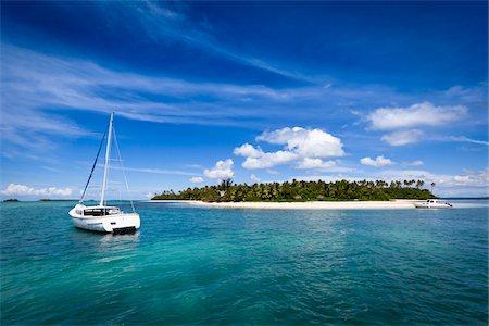 sailboat  ocean - Fafa Island Resort, Nuku'alofa, Tongatapu, Kingdom of Tonga Stock Photo - Rights-Managed, Code: 700-03814144