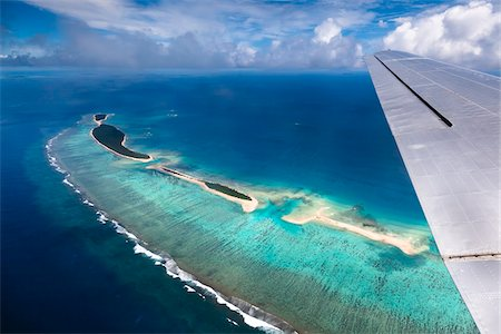 Aerial View of Islands from Airplane, Kingdom of Tonga Stock Photo - Rights-Managed, Code: 700-03814186