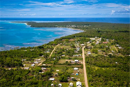 Pangai Village, Lifuka, Ha'apai, Kingdom of Tonga Stock Photo - Rights-Managed, Code: 700-03814198