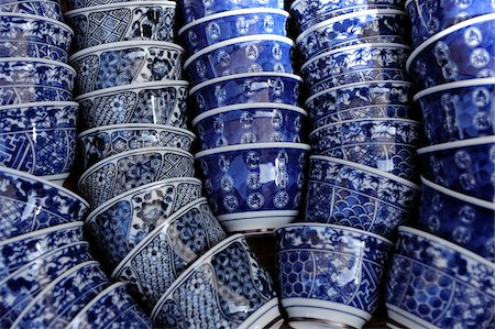 Japanese Ceramics, Kyoto, Kansai, Honshu, Japan Stock Photo - Rights-Managed, Code: 700-03814281